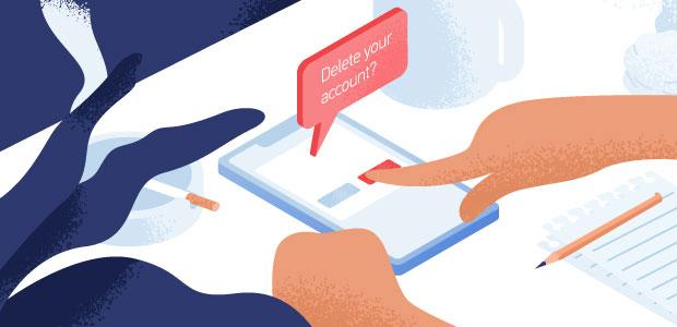 Delete account | Simple URL Shortener