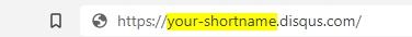 your shortname disqus | Simple URL Shortener